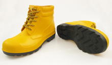 Have CE certificate ankle pvc safety boots