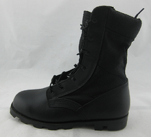 M002 Leather vulcanized jungle boots