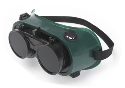 PVC materials welding goggles supplier