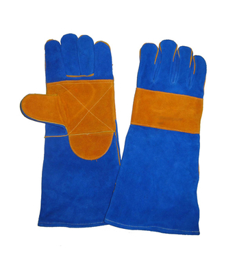 1321 reinforced palm and back leather welding gloves
