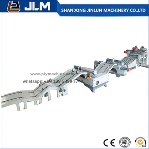 Jinlun Automatic CNC Control 8 Feet Plywood Veneer Peeling Line From China
