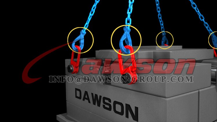 Application of G100 European Type Clevis Self-Locking Hook - Dawson Group Ltd. - China Manufacturer, Factory
