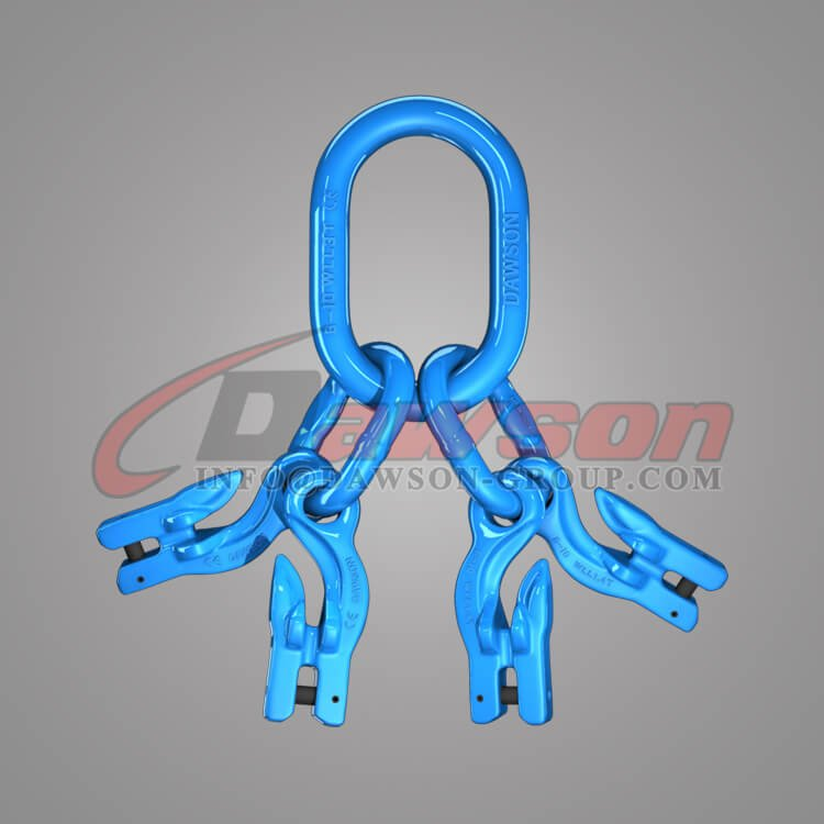 Grade 100 Master Link Assembly + Grade 100 Eye Grab Hook with Clevis Attachment×4 Dawson Group Ltd. - China Supplier, Factory