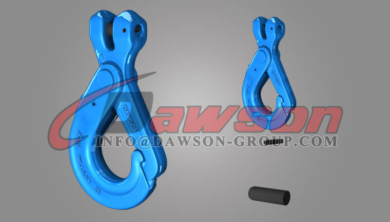 Grade 100 Special Clevis Self-locking Hook with Grip - Dawson Group Ltd. - China Supplier, Exporter