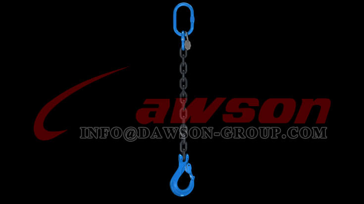 Application of Grade 100 Clevis Sling Hook with Cast Latch - Dawson Group - China Supplier