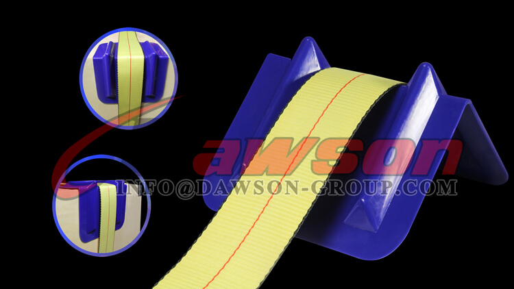Application of Ratchet Tie Down Lashing Strap Plastic Edge Protector U.S. Market, America Market - Dawson Group Ltd. - China Manufacturer, Supplier, Factory