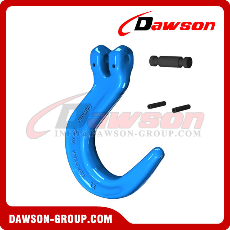Grade 100 Forged Steel Clevis Foundry Hook, G100 Clevis Type Large Opening Hook - Dawson Group - China Supplier