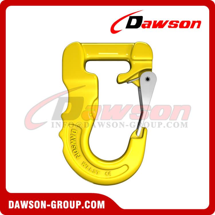 Grade 100 Web Sling Hook, G100 Synthetic Alloy Round Sling Hook 3T - Dawson Group Ltd. - China Supplier