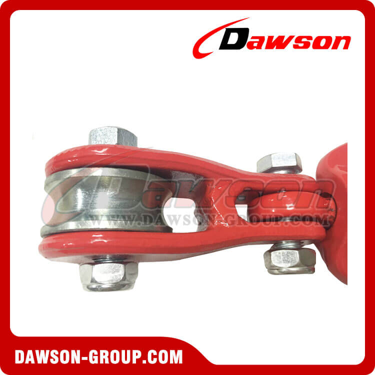 DS930 G80 Swivel Connecor with Roller Sheave for Forestry Logging - China Facotory