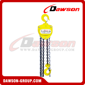 DS-SL-A 0.25T - 20T Chain Block, Hand Chain Hoist for Lifting