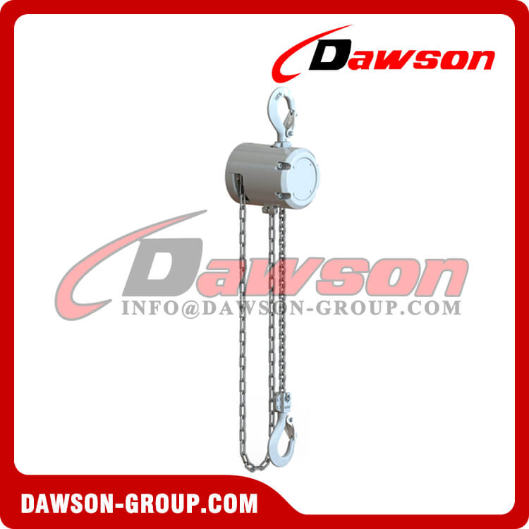 Mini Aluminum Alloy Chain Hoist, Chain Block - Dawson Group Ltd. - China Supplier, Factory