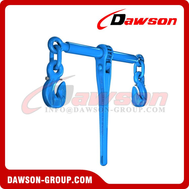 DS1030 G100 Ratchet Load Binder With Eye Grab Hook and Safety Pin for Ratchet Lashing