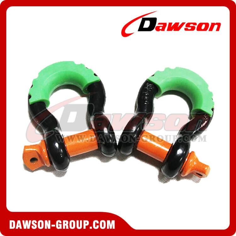 Bow Shackle with PU Protection for Towing - China Manufacturer Supplier