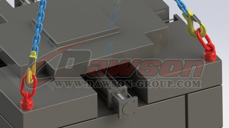 application of DS303 G80 Lifting Screw Point