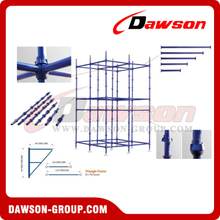 Cup-Lock Scaffolding For Construction