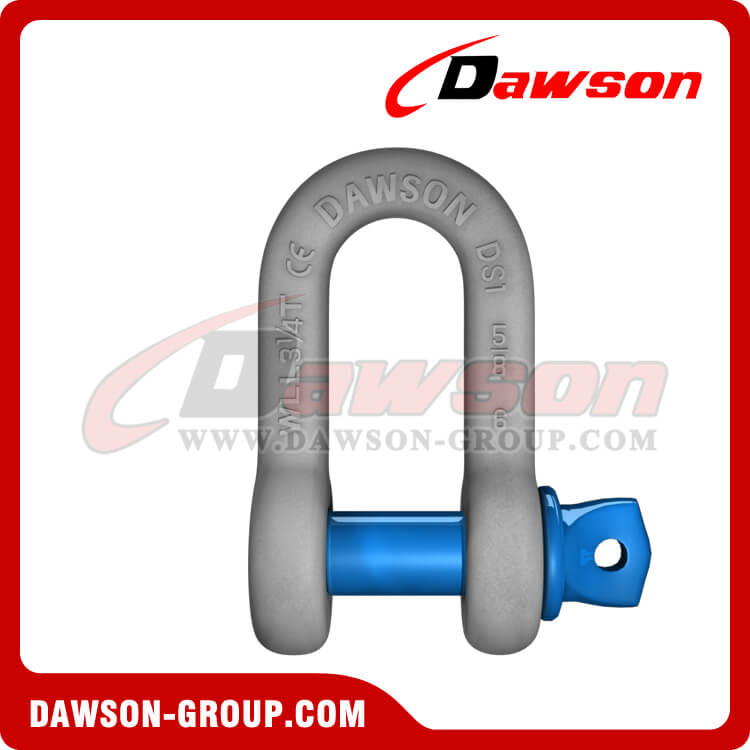 Hot Dip Galvanized US Type Chain Shackle with Screw Pin