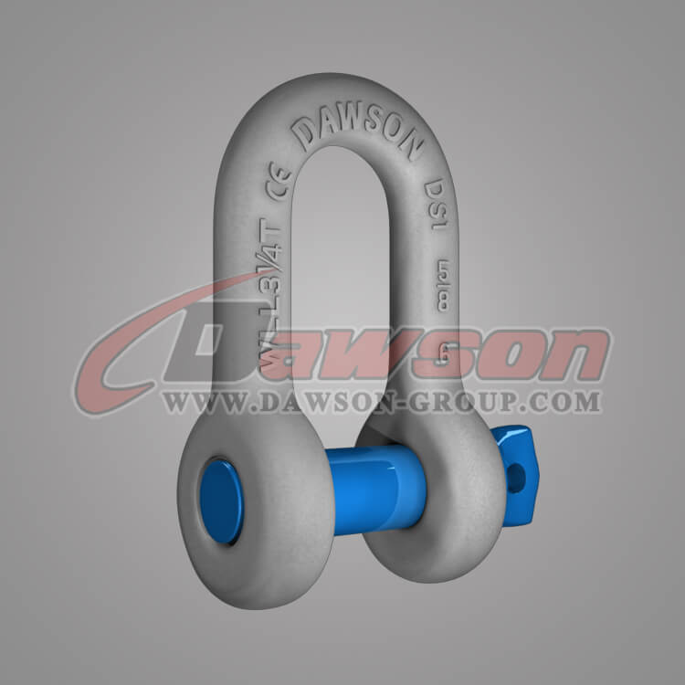 Dawson Brand Hot Dip Galvanized US Type Chain Shackle with Safety Pin - China Manufacturer Supplier, Factory