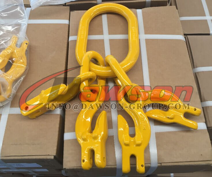 G100 Master Link Assembly with 4 Grab Hook - Dawson Group Ltd. - China Supplier