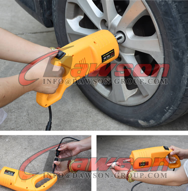 Application of 12V DC Electric Impact Wrench, Auto Impact Wrench - Dawson Group Ltd. - China Manufacturer, Supplier, Factory