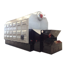 Horizontal Double Drums Chain Grate Biomass Fired Hot Water Boiler