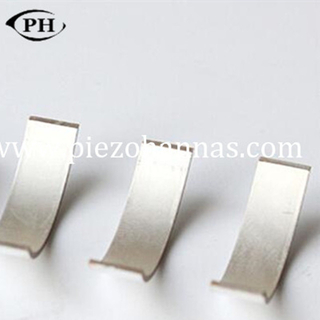tile shape piezoelectric ceramic crystal for doppler ultrasound