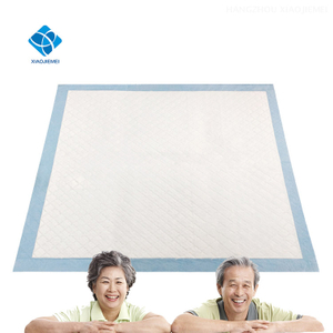 60x60cm CE FDA Certifications Hospital Surgical Nonwoven Disposable Underpad For Elder