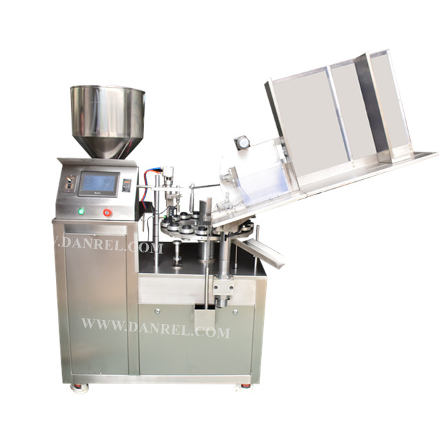 Automatic Aluminum Tube Filling And Sealing Machine