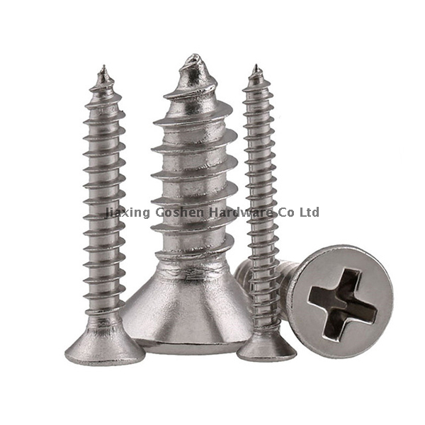 1/4 stainless steel self tapping countersunk screws fastenal