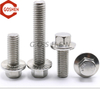 18-8 Stainless Steel 304 m12 1.25 x 40 Hex flange Head Bolts