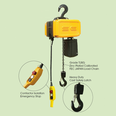 SG ELECTRIC HOIST(SINGLE PHASE)