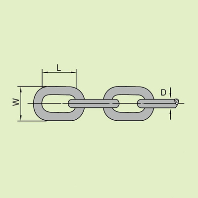 ORDINARY MILD STEEL LINK CHAIN LONG LINK CHAIN