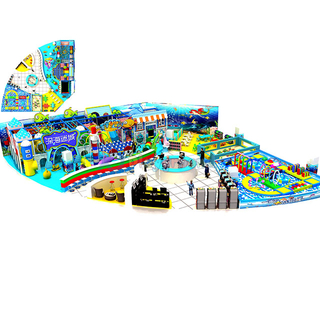 Customized Design Ocean Themed Soft Kids Indoor Playground