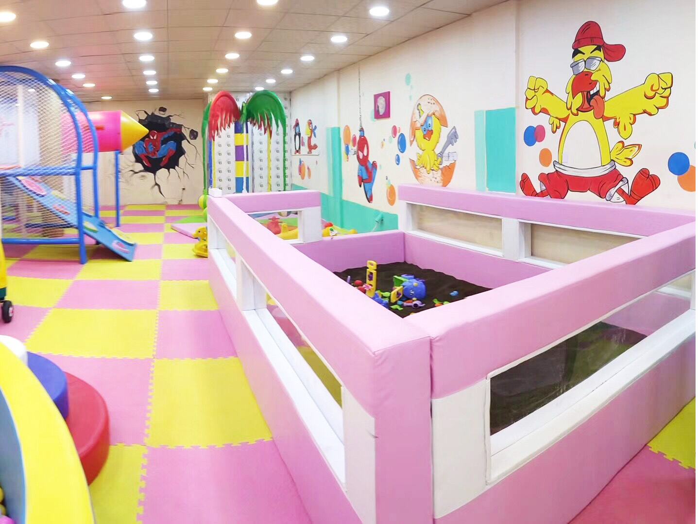 Rest Area of Candy theme indoor playground