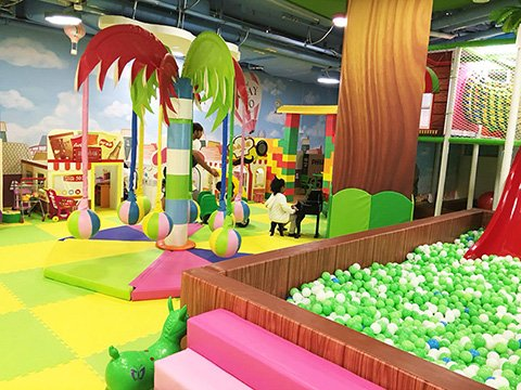Jungle theme indoor playground equipment