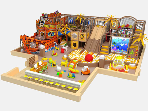 What is the prospect of setting up an kids indoor playground?