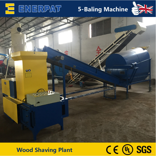 Wood Shaving Plant Install In China 2015
