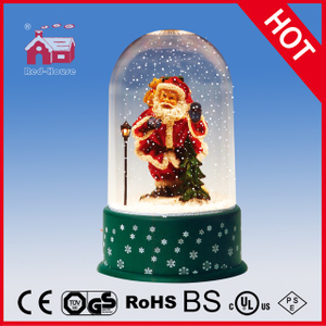 (P18030D) Snowing Christmas Crafts with Transparent Case