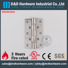 DDSS001-5x3x3.0mm-Stainless Steel Grade304 UL Fire Rated Ball Bearing Hinge for Office Door