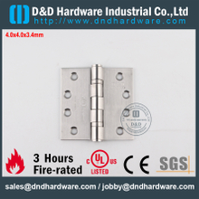 DDSS001-4x4x3.4mm-SUS304 Modern Fire Rated 2BB Hinge with UL Listed for Steel Door