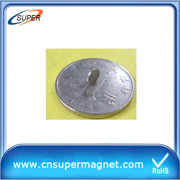 Low-priced D4*1mm SmCo Permanent Magnet