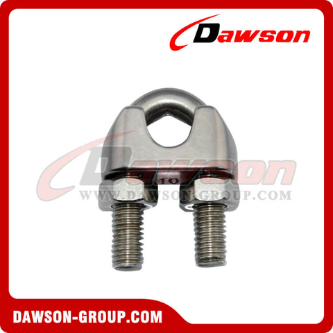 Stainless Steel Wire Rope Clip High Body Type