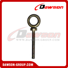 Long Shank Dynamo Eye Bolts, Forged