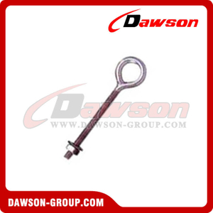 Stainless Steel US Type Regular Eye Bolt With Washer And Nut
