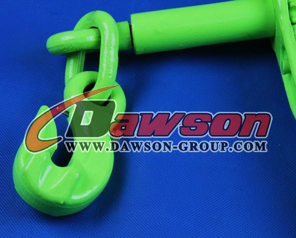 G100 Rachet load binder with eye grab hooks with Safety Pin China Dawson Group