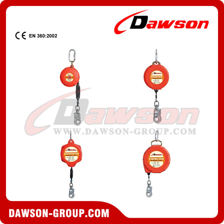 Wire Safety Self Retractable Lifeline - China Manufacturer Supplier, Factory