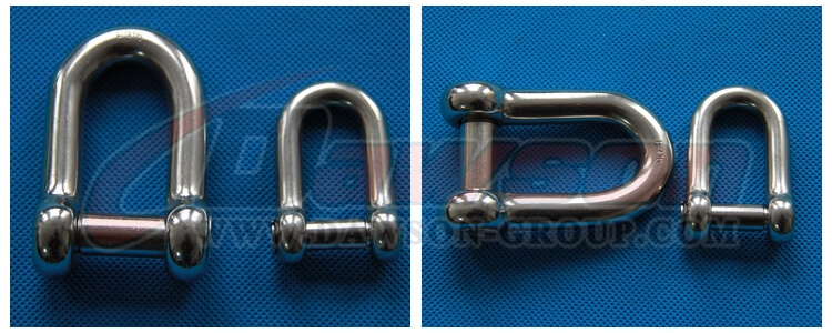Oval Sunk Pin Dee Shackle- China manufacturer supplier1