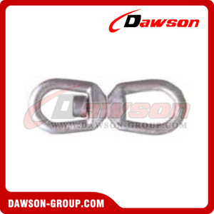 G402 Hot Dipped Galvanized Forged Steel Regular Swivel Eye & Eye