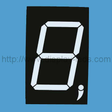 3 inch (76 mm) 7 segment LED Display