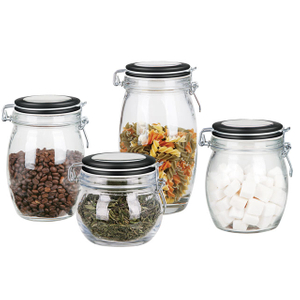 Glass Airtight Canister