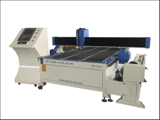 Square & round tube cnc plasma cutting machine